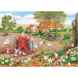 "House of Puzzles  500 stukjes Big   "" Red Harrows""   The Kinkell Collection"