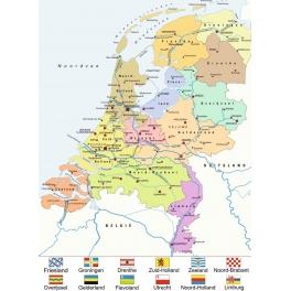 Nederland kaart (CITO)