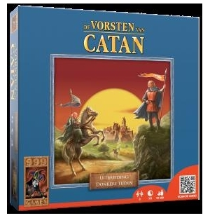 Vorsten van Catan uitbreiding donkere landen