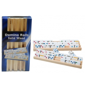 Domino Latten hout, set van 4 stuks : HOT Games