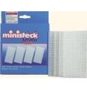 Ministeck platen 4 stuks 6,7x 13,3cm