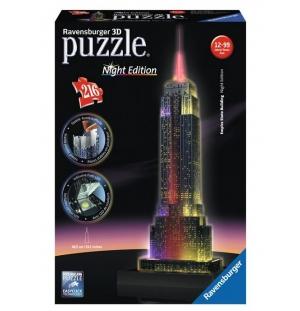 Empire State Building 3D ravensburger 216stukjes