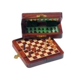 schaak dam bord