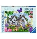 Delphinium Cottage, 1000stukjes ravensburger