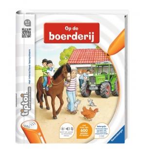 Tiptoi Boek Op de Boerderij
