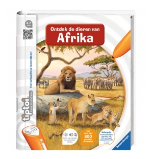 Tiptoi Boek Ontdek de dieren in Afrika