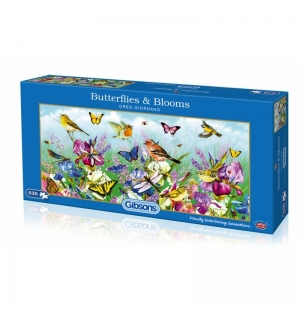 Butterflies & Blooms  Gibsons puzzel