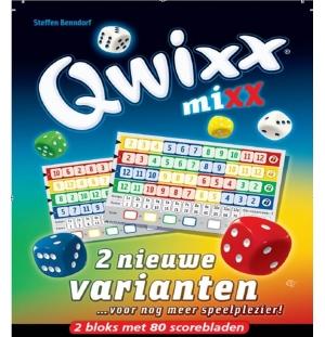 Qwixx Mixx  score blok