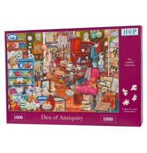 Den of Antiquity hop puzzel