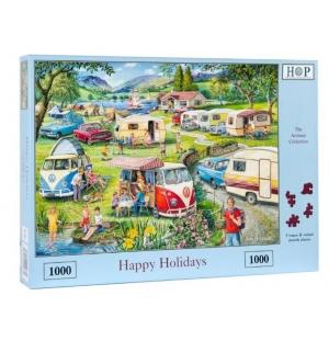 Happy Holidays  Hop puzzel