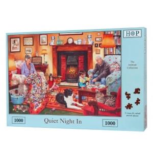 Quiet Night In  Hop puzzel