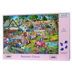 Summer Green  Hop puzzel