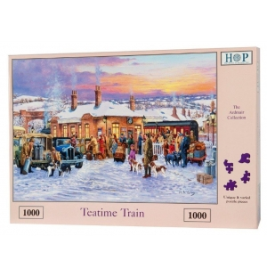 Teatime Train  Hop puzzel