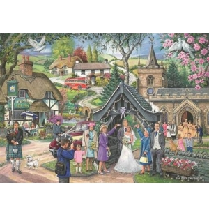 Wedding Day  Hop puzzel