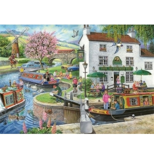 By the Canal Hop puzzel