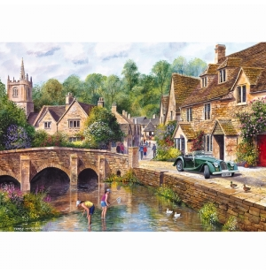 Castle Combe Gibsons Puzzel