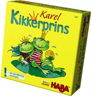 Karel Kikkerprins Haba spel