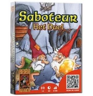 Saboteur Het Duel kaartspel, 999 games