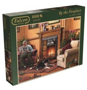 By the Fireplace  1000stukjes falcon