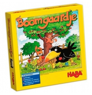 Boomgaard memospel  Haba spel