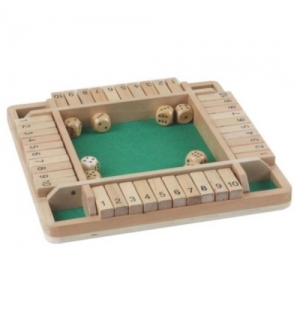 Shut the Box dobbelspel dubbel 9