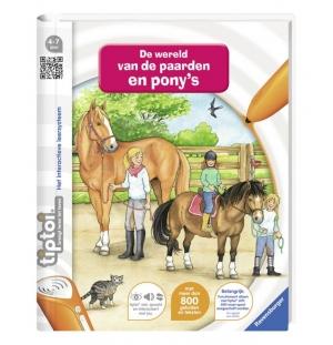 Tiptoi Boek De wereld van Pony`s en paarden