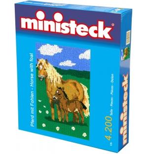 Pony met veulen ministeck 3500