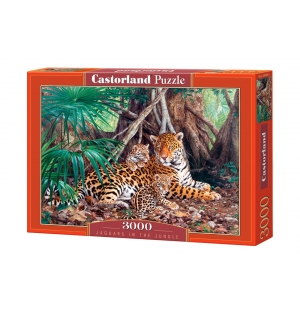 Jaguars in the Jungle, 3000stukjes Castorland