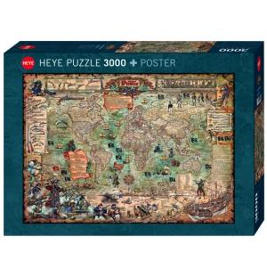 Piraten wereld 2000st Heye Puzzels