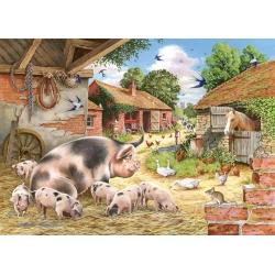 Poppy`s Piglets, The House of Puzzles 500xxlstukjes