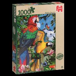 Pretty Parrots, jumbo 1000stukjes