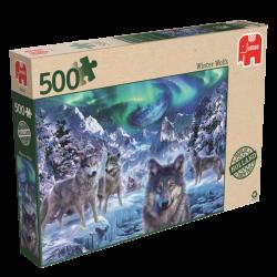 Winter Wolven, jumbo 500stukjes
