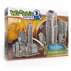 Wrebbit 3D New York 900stukjes