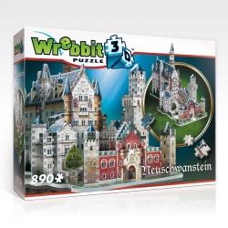 Wrebbit 3D Neu Schwanstein  890stukjes