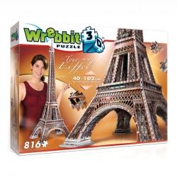 Wrebbit 3D Eifeltoren 816stukjes
