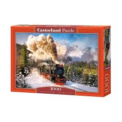 Steam train , 1000stukjes Castorland