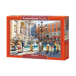 The trevi Fountain,  3000stukjes Castorland