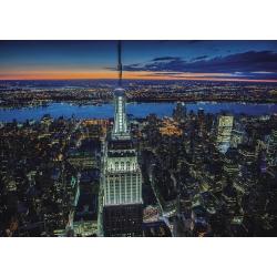 New York By Night Piatnik Puzzel 1000stukjes