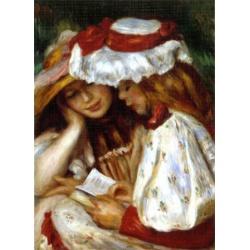 Deux jeunes filles Lisant,  D-Toys 1000stukjes Renoir