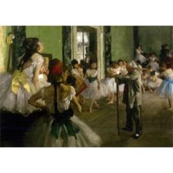 The dancing class   D-Toys 1000stukjes Degas, Edgar