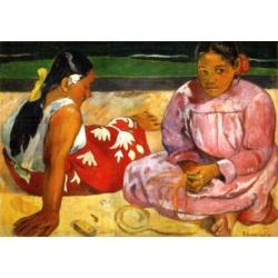 Woman of Tahiti   D-Toys 1000stukjes  Paul Gauguin