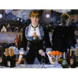 Le bar des Folies,  D-Toys 1000stukjes  Manet, Edouard