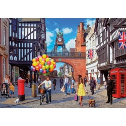 Chester, Brittains best Streets Gibsons Puzzel