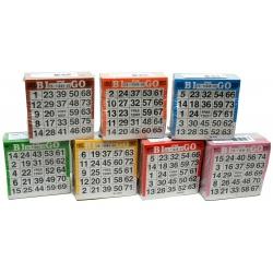 Bingo kaarten 500stuks voor 75 ballen