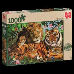 Wild Cats, jumbo 1000stukjes