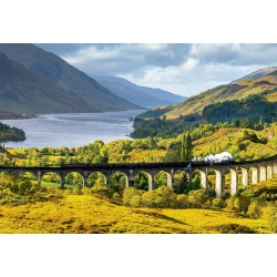 Glenfinnan viaduct, Scotland,, Educa 1000stukjes