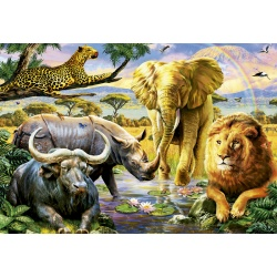 The Big Five animals, Educa 1000stukjes