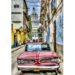 Vintage car in Havana, Educa 1000stukjes