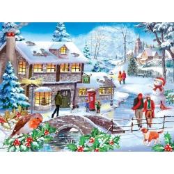 Winter walk, Hop Puzzels 500st