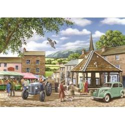 Market Town, Hop Puzzels 500st